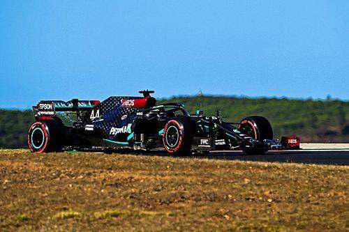 F1: Hamilton in pole a Portimao con le gomme medie!