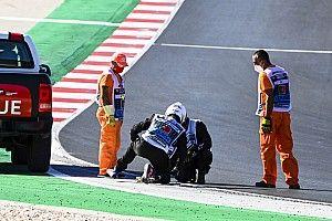 Kwalificatie Portugese GP half uur uitgesteld door baanreparatie