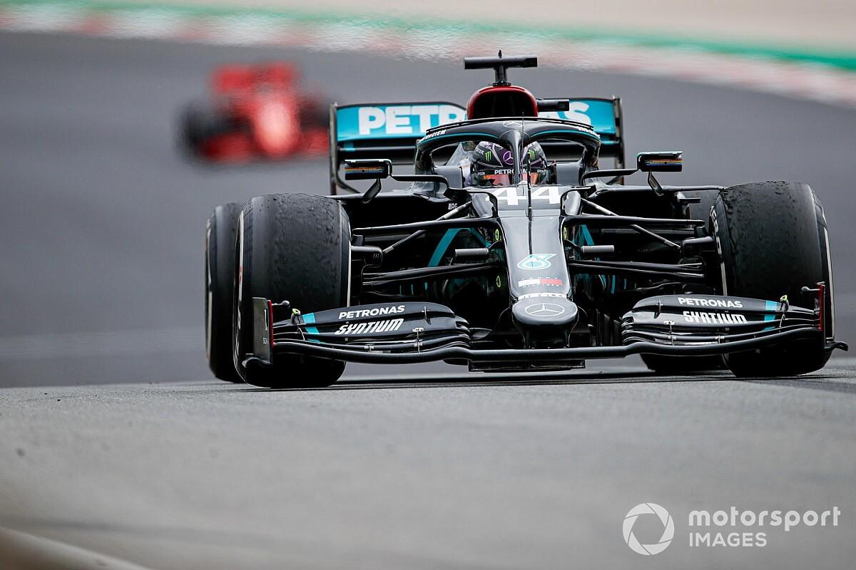 Mercedes explains set-up call key to Hamilton's Portimao win