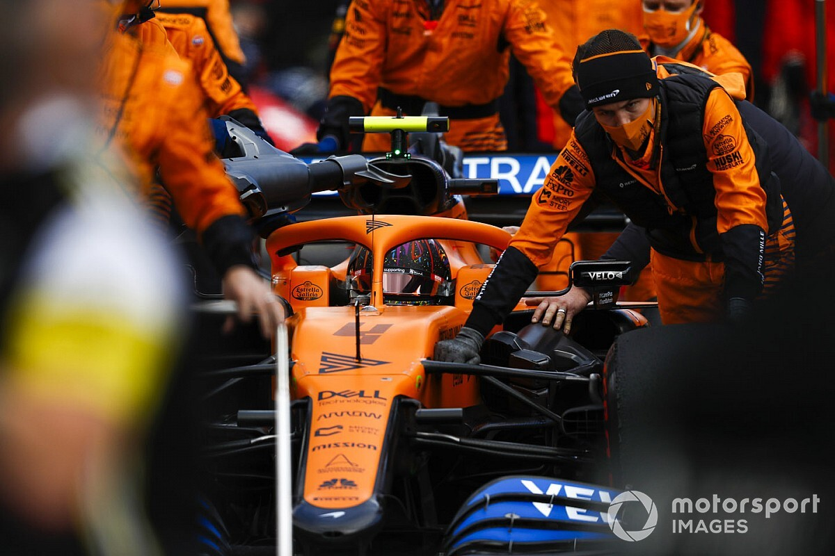Moteur Renault : Norris a eu le même problème que Sainz à Spa