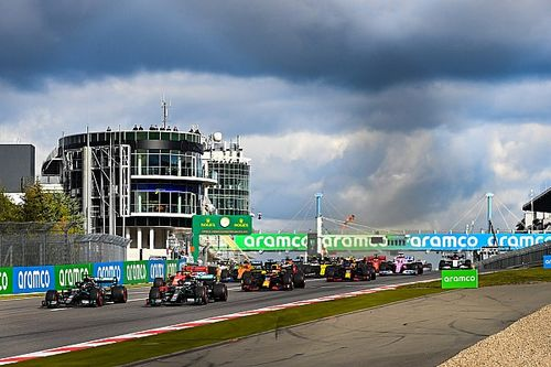 F1アイフェルGP決勝速報:ハミルトン、皇帝に並ぶ史上最多91勝目。フェルスタッペン2位