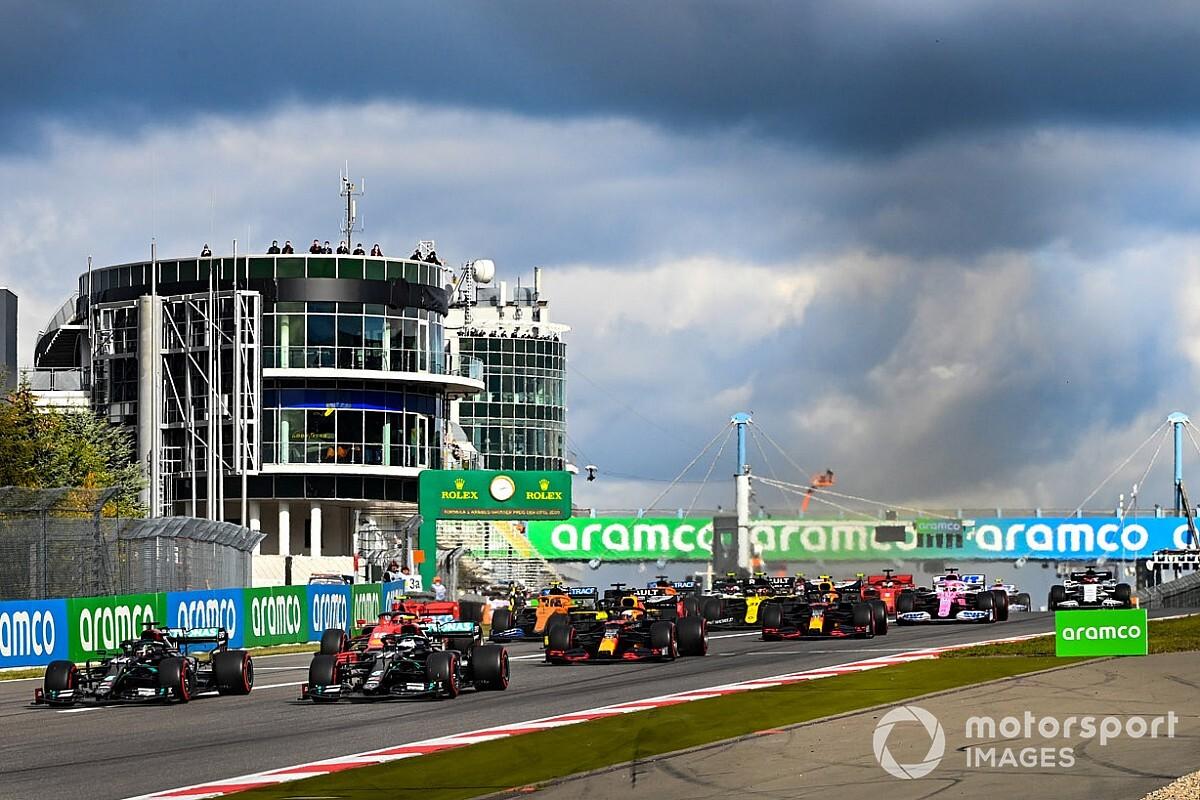 Formel 1 Eifel 2020: Die animierte Rundentabelle