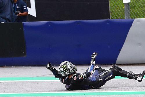 Виньялес спрыгнул с байка на скорости 200 км/ч, так как не послушал совет Brembo