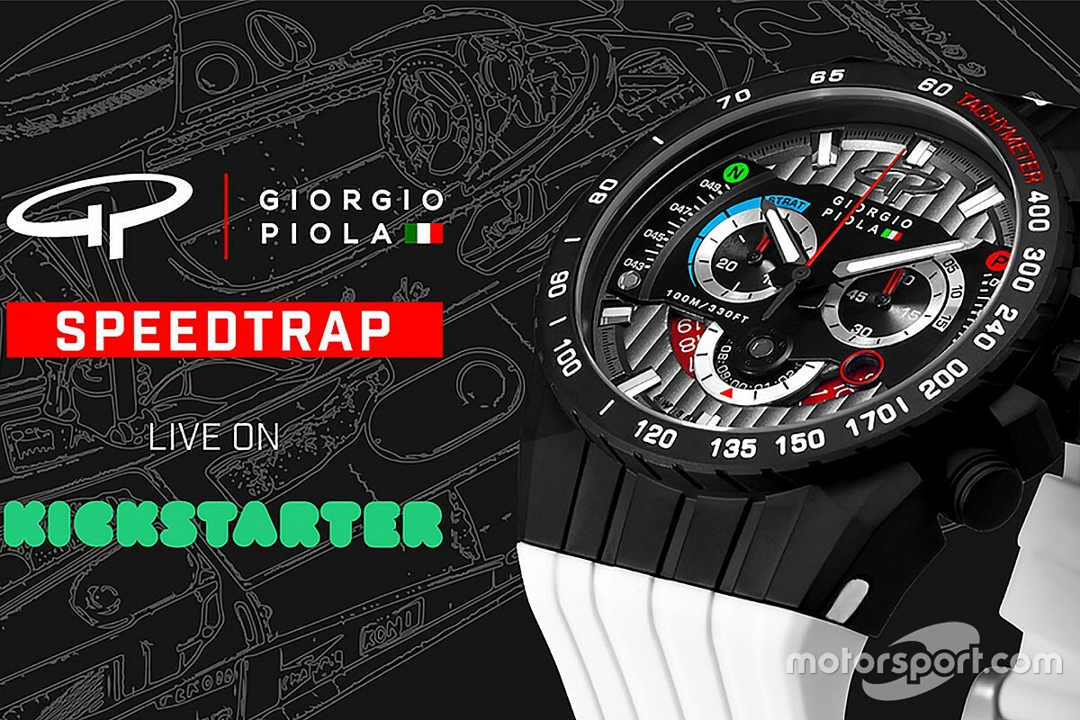 Giorgio Piola lança nova coleção relógios inspirada na F1