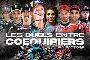 Les duels entre coéquipiers MotoGP après les 5 premiers Grands Prix