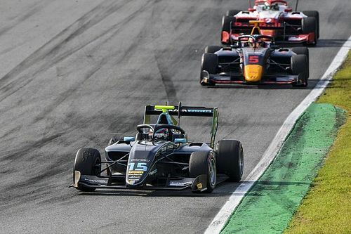 Monza F3: Hughes wins dramatic race as Piastri, Sargeant retire