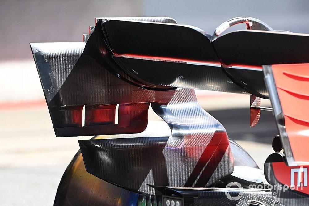 Fotos: los detalles de los coches de F1 para Portugal
