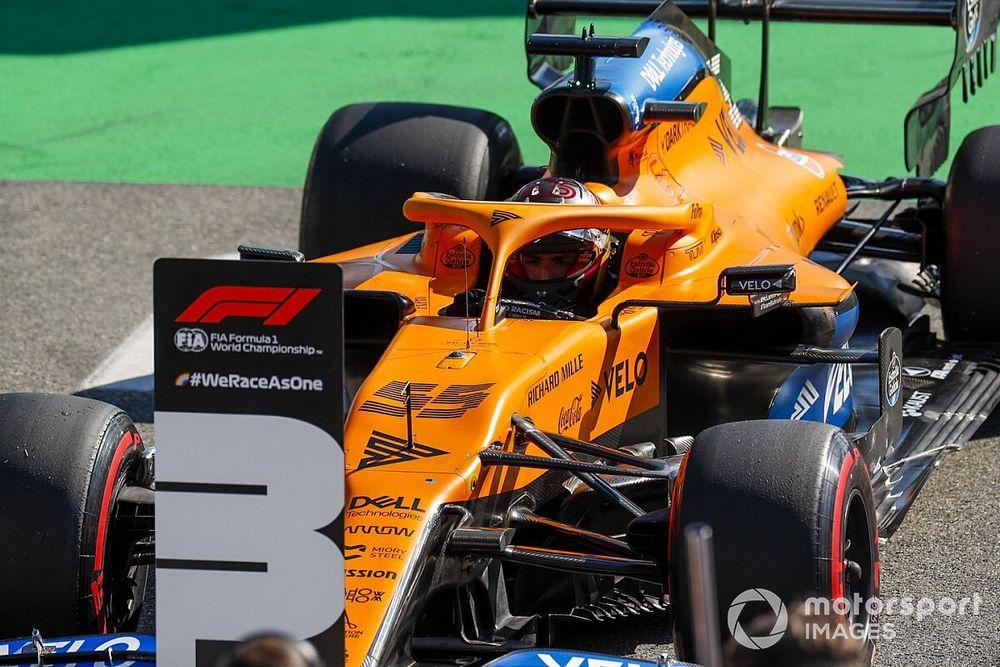 GP de Italia: las fotos de un sábado histórico para Sainz en F1