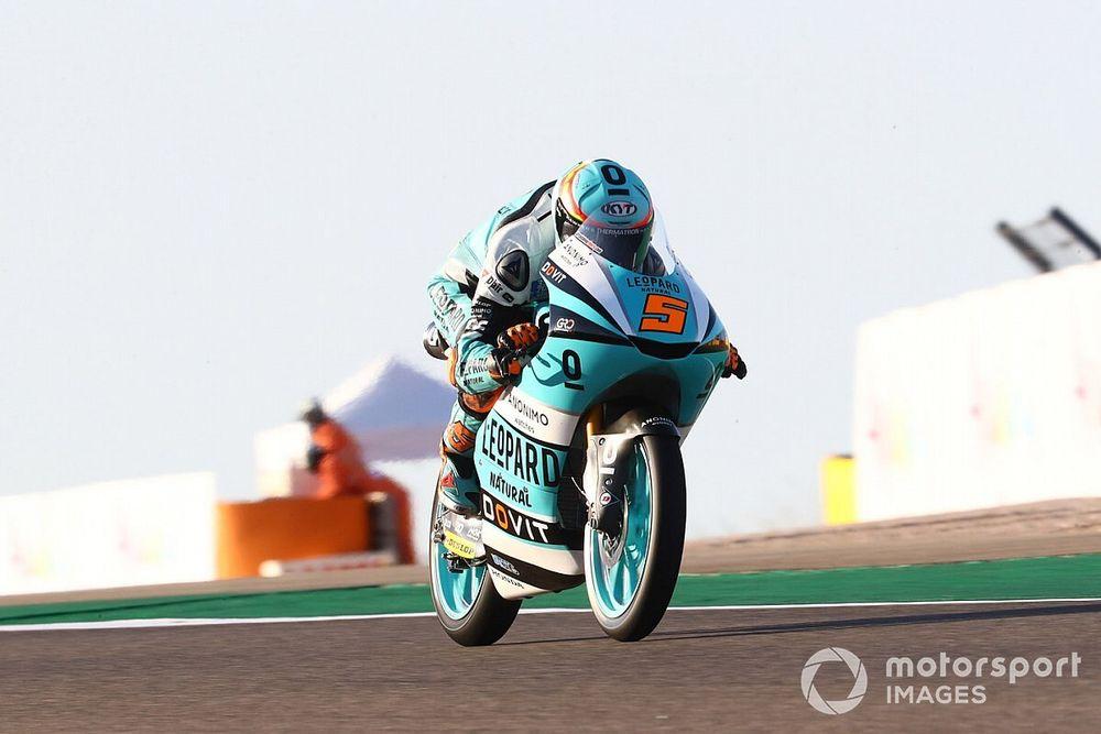 Moto3, Teruel, Libere 1: lampo di Masia davanti a Fenati
