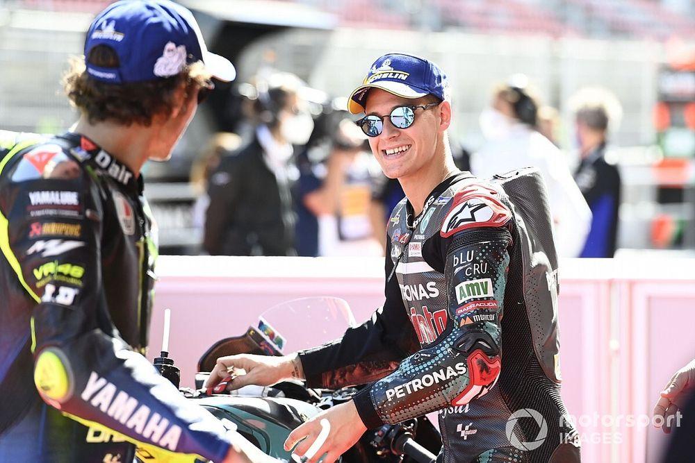 """MotoGP: Quartararo admite que """"não há como substituir"""" Rossi na Yamaha"""