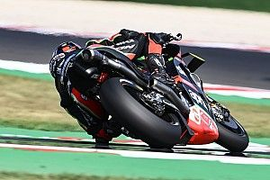 Bradl trials radio warning system in Misano practice