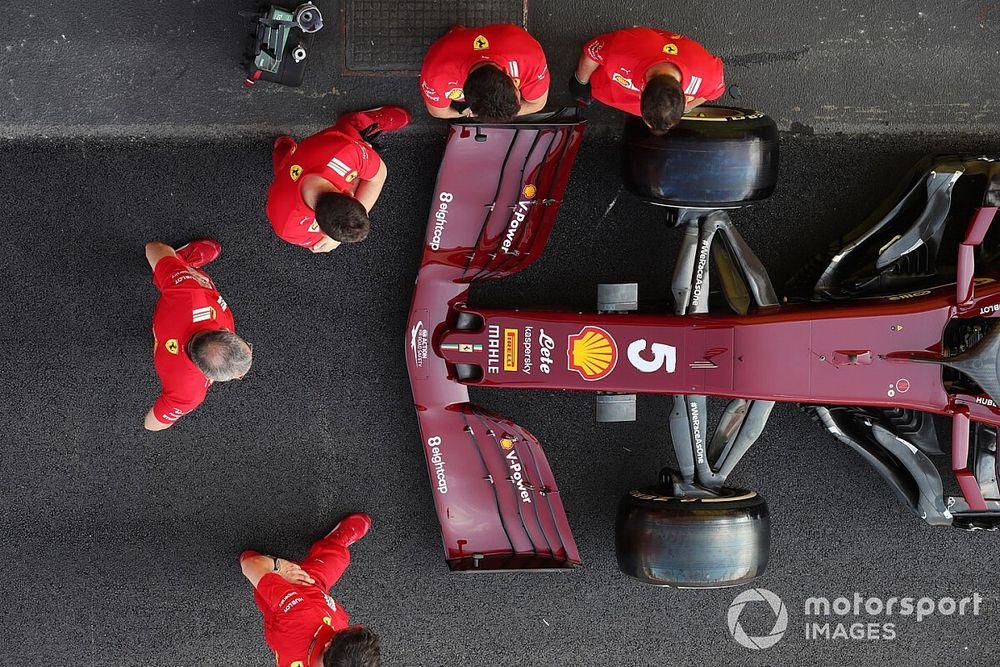 Las primeras fotos de la Fórmula 1 en Mugello
