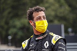 Ricciardo had grote problemen Ferrari niet verwacht