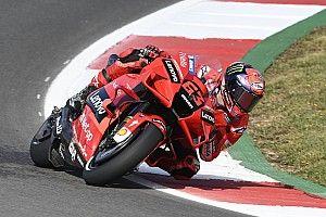 Portuguese MotoGP: Bagnaia fastest from Quartararo in FP2