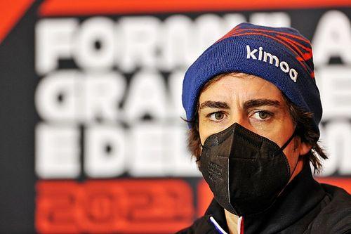 Alonso, Alpine'in Imola güncellemesinden umutlu
