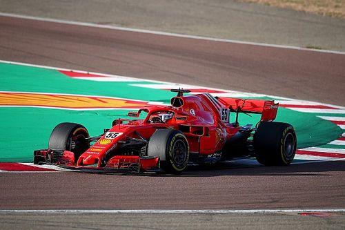 Galeri: Carlos Sainz'ın Ferrari ile ilk testinden fotoğraflar