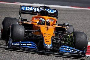 速報:F1プレシーズンテスト初日午前|マクラーレン移籍のリカルドがトップ。メルセデスはトラブル発生