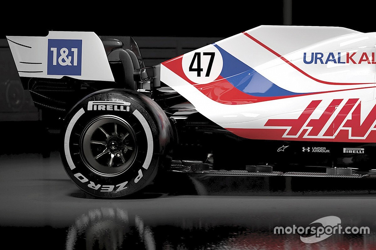 Haas baart opzien met Russische kleuren: