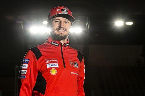 """Miller """"heureux"""" de prendre le rôle de leader de Ducati"""