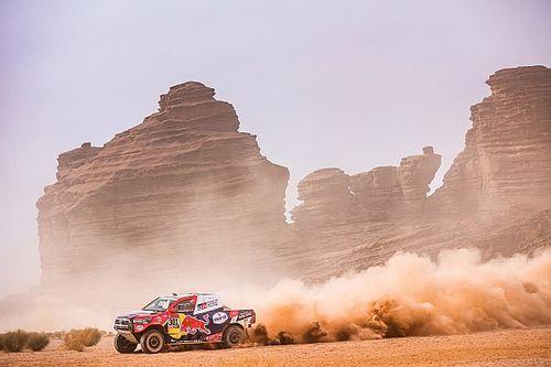 """Al Attiyah: """"Peterhansel tiene más presión que yo en este Dakar"""""""