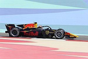 Lawson scoort knappe debuutzege in eerste Formule 2-sprintrace