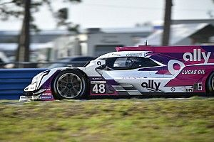 Jimmie Johnson explains early Sebring 12H crash