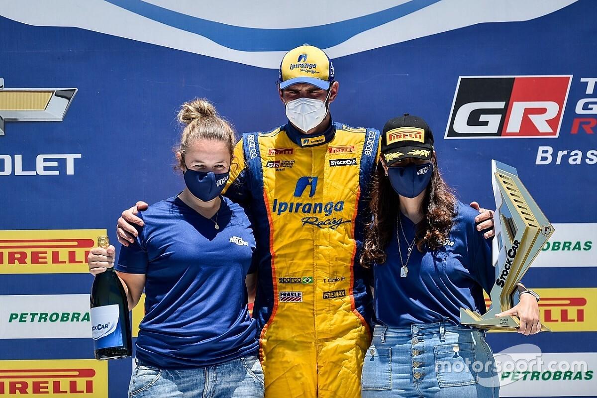 Stock Car: Emocionado, Camilo dedica vitória a Amadeu Rodrigues em Curitiba