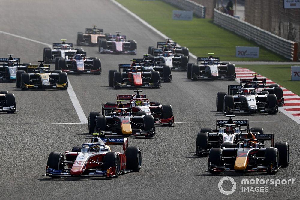 DAZN、2021年もFIA F2&F3を全レース配信へ。F2には佐藤万璃音、F3は岩佐歩夢が参戦