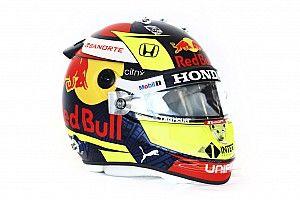 Перес показал шлем, в котором будет выступать за Red Bull