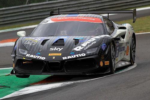 Nurmi écrit une page d'Histoire en Ferrari Challenge Europe