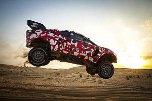 """Loeb """"satisfait"""" après ses derniers essais pour le Dakar"""