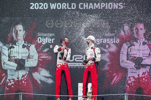 VIDEO: Ogier viert zevende wereldtitel WRC in Monza