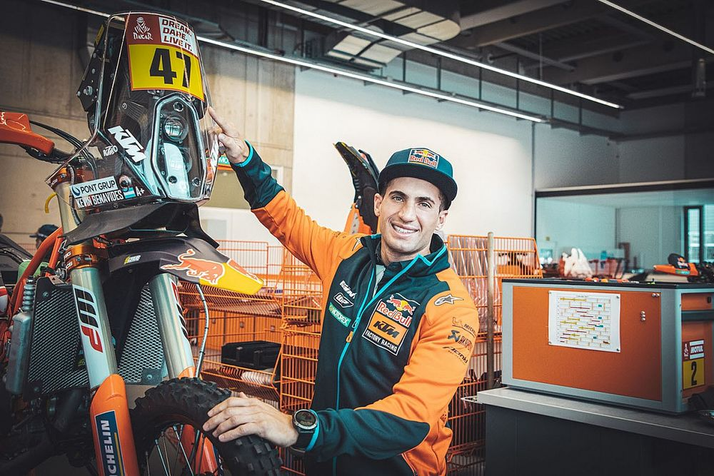 Dakar-winnaar Benavides ruilt Honda in voor KTM