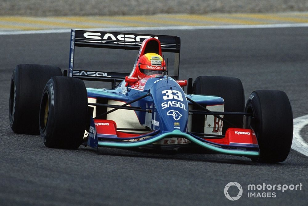 Jordan 191 to 'Pink Mercedes' - The shifting fortunes of Aston's F1 forebearers