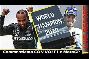 Report Live: Hamilton e Mir, gioie mondiali