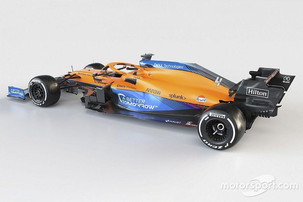 McLaren explains lack of Mercedes branding
