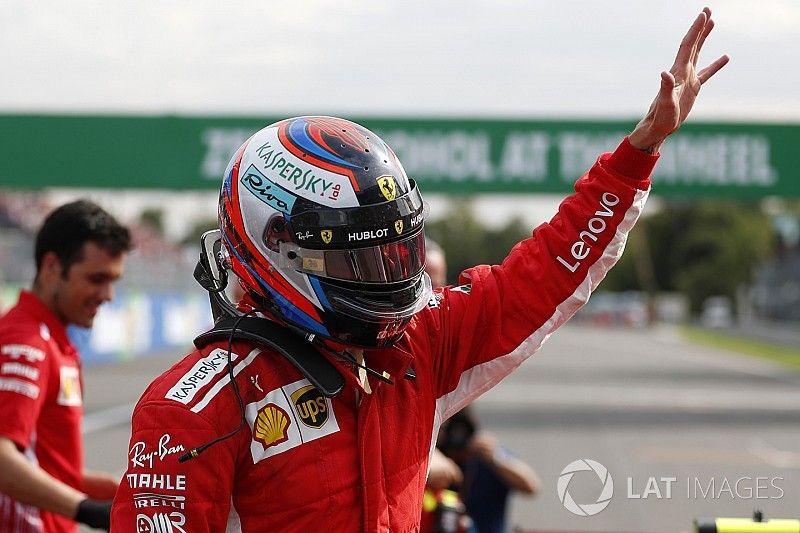 Pole de Raikkonen y doblete de Ferrari ante un exultante Monza