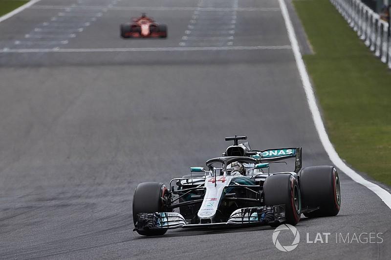 Hamilton dice que la calificación en Bélgica fue una de las más difíciles