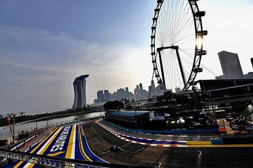 【動画】F1第15戦シンガポールGPフリー走行1回目ハイライト
