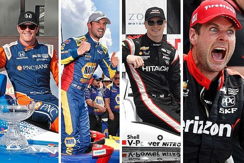 Quatre hommes pour un titre IndyCar