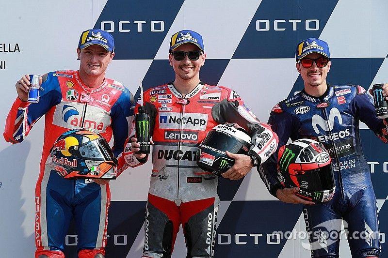 Ronderecord brengt Lorenzo pole in San Marino, crashende Marquez vijfde