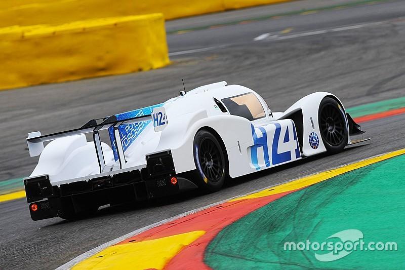GreenGT rijdt op waterstof over Spa-Francorchamps