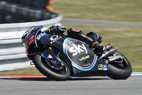Brno, Libere 3: doppietta italiana con Bagnaia davanti a Marini. Terzo Alex Marquez
