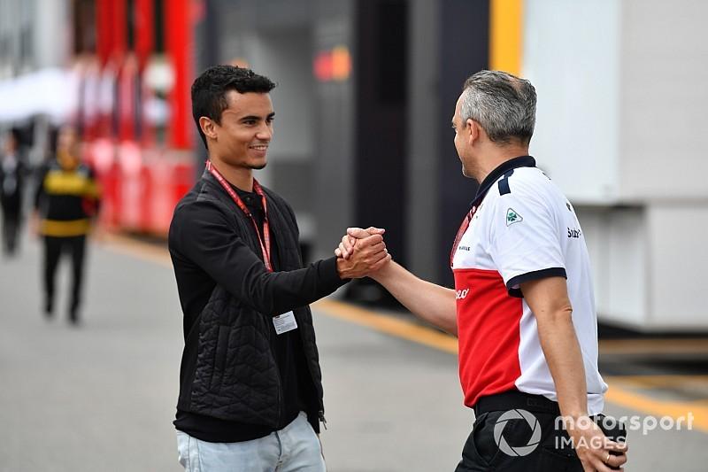 Ferrari, Wehrlein ile görüşüyor