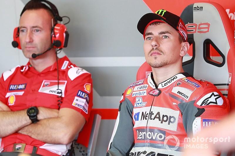 Lorenzo: Estive próximo de me aposentar antes de acordo com a Honda