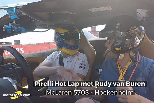 Van Buren neemt Motorsport.com mee over Hockenheimring