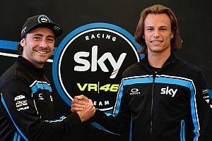 Lo Sky Racing Team VR46 smentisce le voci su una possibile sostituzione di Bulega in Moto2 nel 2019