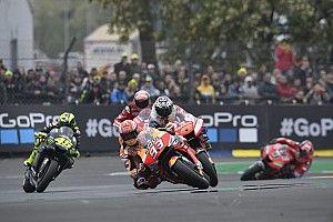 El semáforo del Gran Premio de Francia de MotoGP