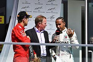 Vettel nie wybierał się na podium