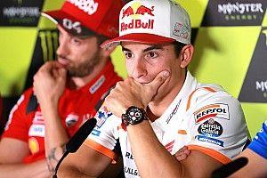 Marquez köszönte a lehetőséget, és ellépett az élen